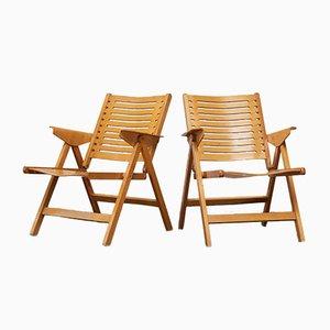 Vintage Rex Chairs von Niko Kralj, 2er Set