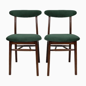 Green Dining Chairs from Rajmund Halas, 1970s, Set of 2