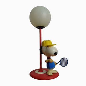Italian Snoopy Table Lamp from New Line Zero, 1960s