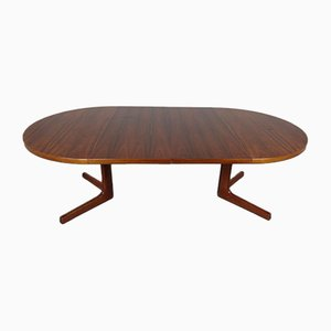 Danish Extendable Rosewood Dining Table by AM Mobler, 1960s