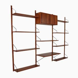 Danish Royal System Shelving Unit by Poul Cadovius for Cado