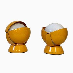 Lampade da tavolo Buonanotte di Stilnovo, anni '60, set di 2