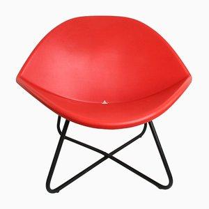 Vintage Holk / Lips Stuhl von Niels Gammelgaard für Ikea