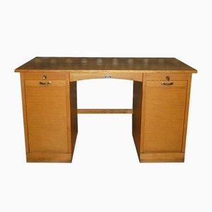 Schreibtisch mit Rolltüren, 1950er
