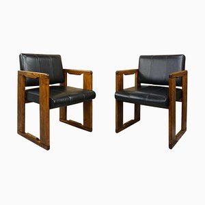 Italian Dialogo Armchairs by Afra & Tobia Scarpa, 1970s, Set of 2