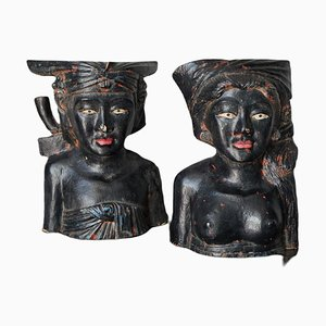 Sacerdote e sacerdotessa di Bali, set di 2