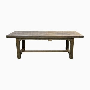 Elm & Oak Monastery Table, 1950s
