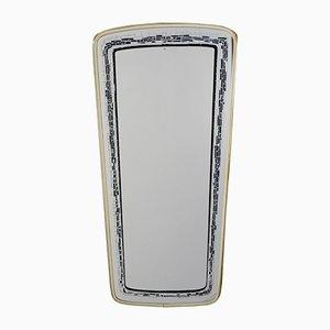 Serigrafía con espejo retrovisor, años 50