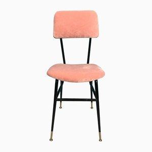 Stühle aus Eisen & Samt, 1960er