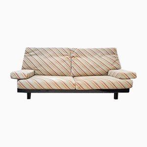 Italian Sofa with Missoni Fabric by Giovanni Offredi for Saporiti, 1970s