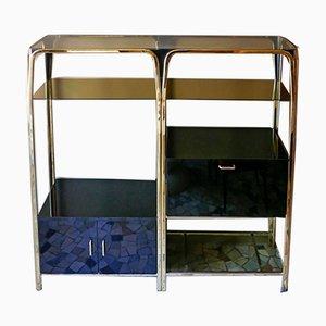 Regency Style Bookcase / Credenza, 1970s
