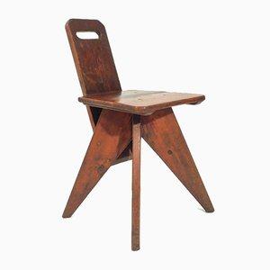 Konstruktivistischer Vintage Stuhl
