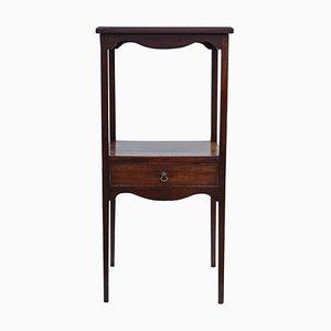 Georgian Mahogany Nightstand or Washstand, 1805s