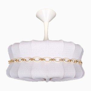 Italian Cocoon Ceiling Lamp, 1970s