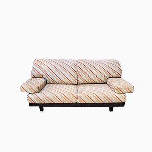 Italian Sofa in Missoni Fabric by Giovanni Offredi for Saporiti, 1970s