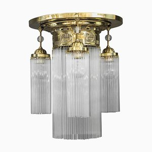 Austrian Art Deco Ceiling Lamp, 1920s