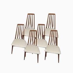 Dining Chairs by Niels Koefoed, Set of 6