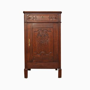 Antique Oak Vertico Cabinet
