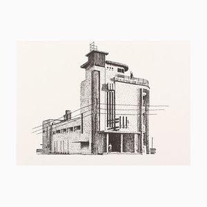 Björn Westphal, Architekturstudie 01, Risograph