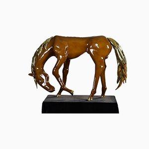 Großes Pferd von Jacques Duval-Brasseur, 1975