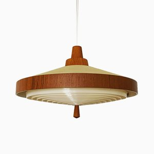 Teak Pendant Lamp from Temde, 1960s