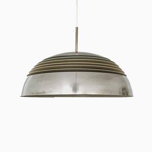Aluminum Pendant Lamp from Doria Leuchten, 1960s