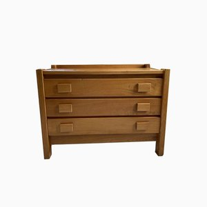 Vintage Elm Chest of Drawers by Maison Regain