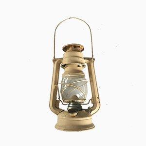 Tschechische Metall Meva Öl Laterne Lampe