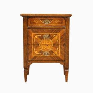 Louis XVI Style Inlaid Nightstand