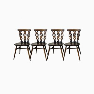 Windsor Chairs by Lucian Ercolani for Ercol, Set of 4