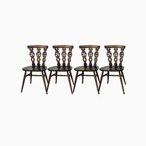 Windsor Stühle von Lucian Ercolani für Ercol, 4er Set