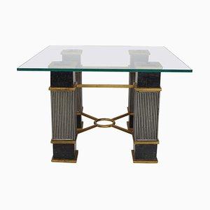 Table Basse en Marbre & Verre, Italie