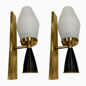 Wandlampen, 1960er, 2er Set