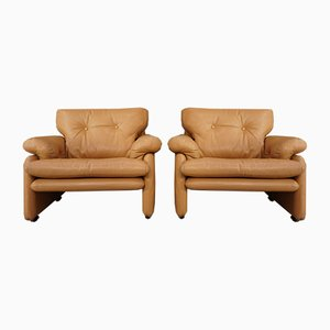 Lounge Chairs by Tobia & Afra Scarpa for B & B Italia, 1960s, Set of 2