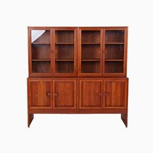 Vintage Danish Solid Teak 3-Piece Cabinet by Søren Nissen and Ebbe Gehl for A/S Mikael Laursen, Set of 3