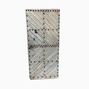 Tür aus Tannenholz, 1800er
