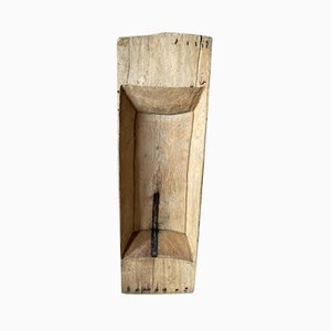 Antiker Holz Knettrog, 1800er