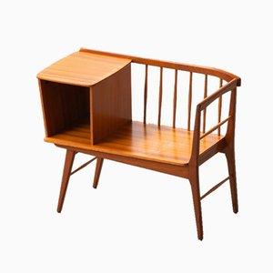 Vintage Scandinavian Teak Bench