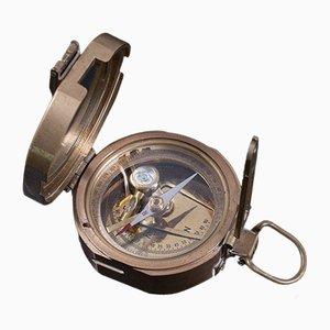Vintage English Marine Terrestrial Navigation Instrument Pocket Compass