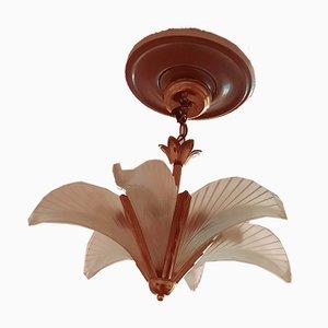 Lámpara de araña estilo Art Déco