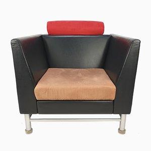 Italienischer East Side Sessel von Ettore Sottsass für Knoll, 1980er