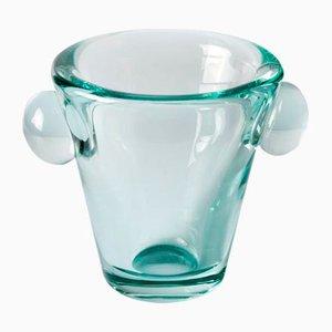 French Heavy Lead Crystal Vase by Daum Nancy, 1930s