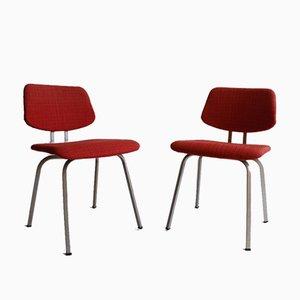 Rote Stühle von Friso Kramer für Ahrend De Cirkel, 2er Set