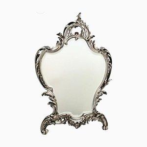 Espejo de pared o estilo francés estilo Rococó de A. Aucoc, década de 1900