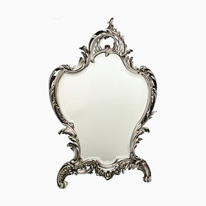 French Rococo Style Table or Wall Mirror from A. Aucoc, 1900s