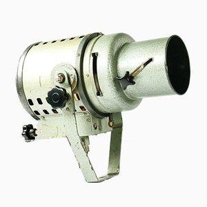 Vintage Industrial Film Studio Spotlight from Jupiter