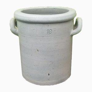 Maceta rústica vintage de cerámica