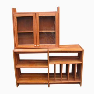 Vintage Slat Shelf / Bookcase, 1970s