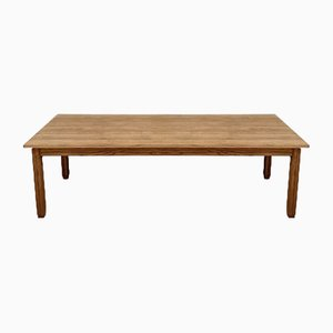 Vintage Solid Oak Dining Table