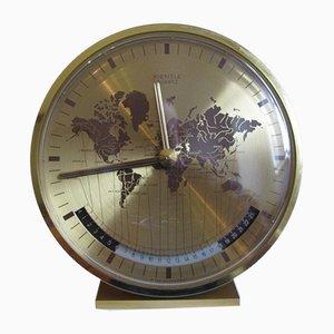 Horloge Kienzle World par Heinrich Möller pour Kienzle International, 1970s